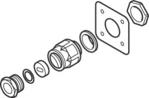 IEK-20-M (1244-000965) Набор для прохода через теплоизоляцию