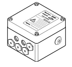 JB-EX-21 (EE x e) (1244-000579) Трехфазная соединительная коробка (1xM32 + 6xM20) 3-phase splitterbox (1xM32 + 6xM20)
