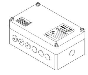 JB-EX-21/35MM2 (EE x e) (1244-006653) Трехфазная соединительная коробка (1xM40 + 6xM20) 3-phase splitterbox (1xM32 + 6xM20)