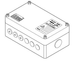 JB-EX-25 (EE x e) (1244-000582) Cоединительная коробка (4xM25) Junction Box (4x25)